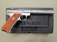 "Ruger Mark III Competition 6.88"" Stainless .22 LR 10112"