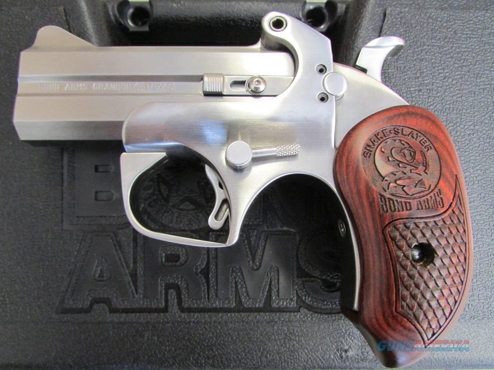 bond arms snake slayer iv 4quot 45 colt 410 de for sale