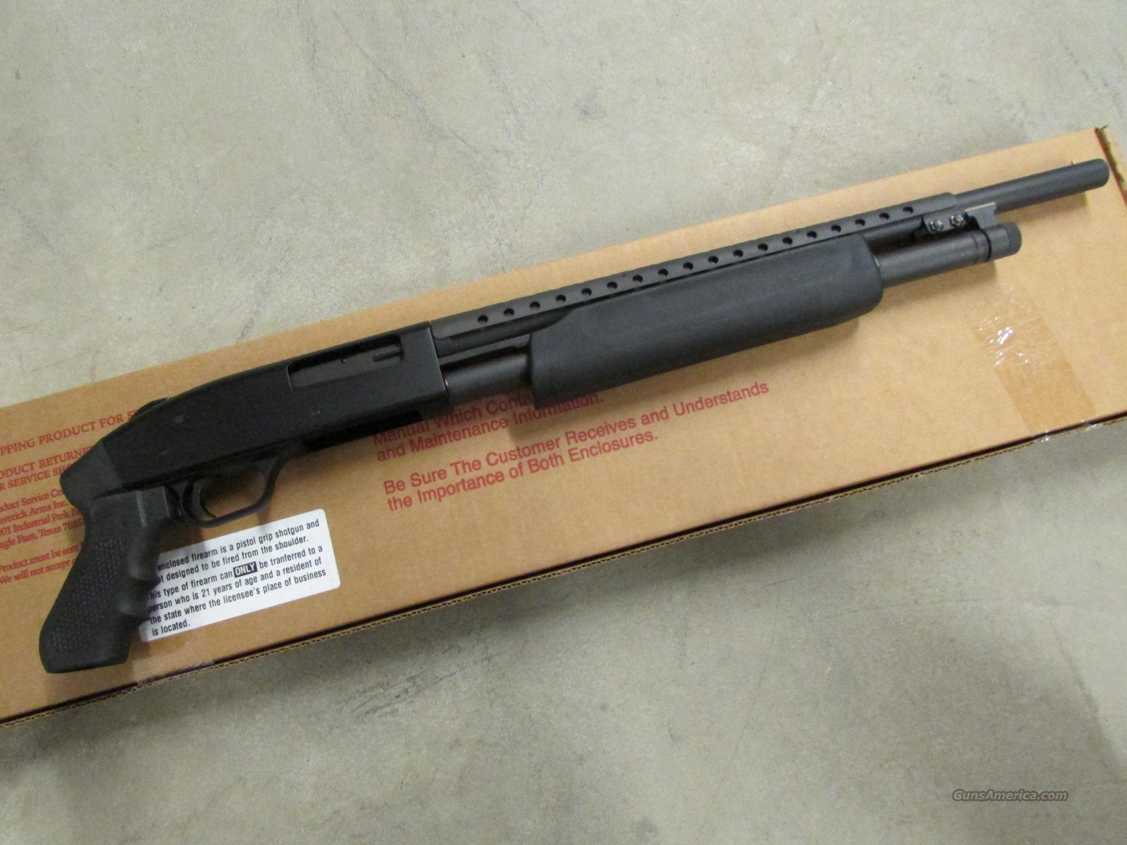 Mossberg pistol grip 20 gauge shotguns