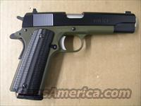 Remington 1911 R1 OD Green, Custom Grips .45ACP
