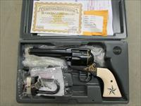 RUGER VAQUERO LIMITED EDITION 1 of 250 .45 COLT 24KT GOLD