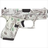 "Glock G42 Glowing $100 Bills .380 ACP 3.25"" UI4250201BILLS"