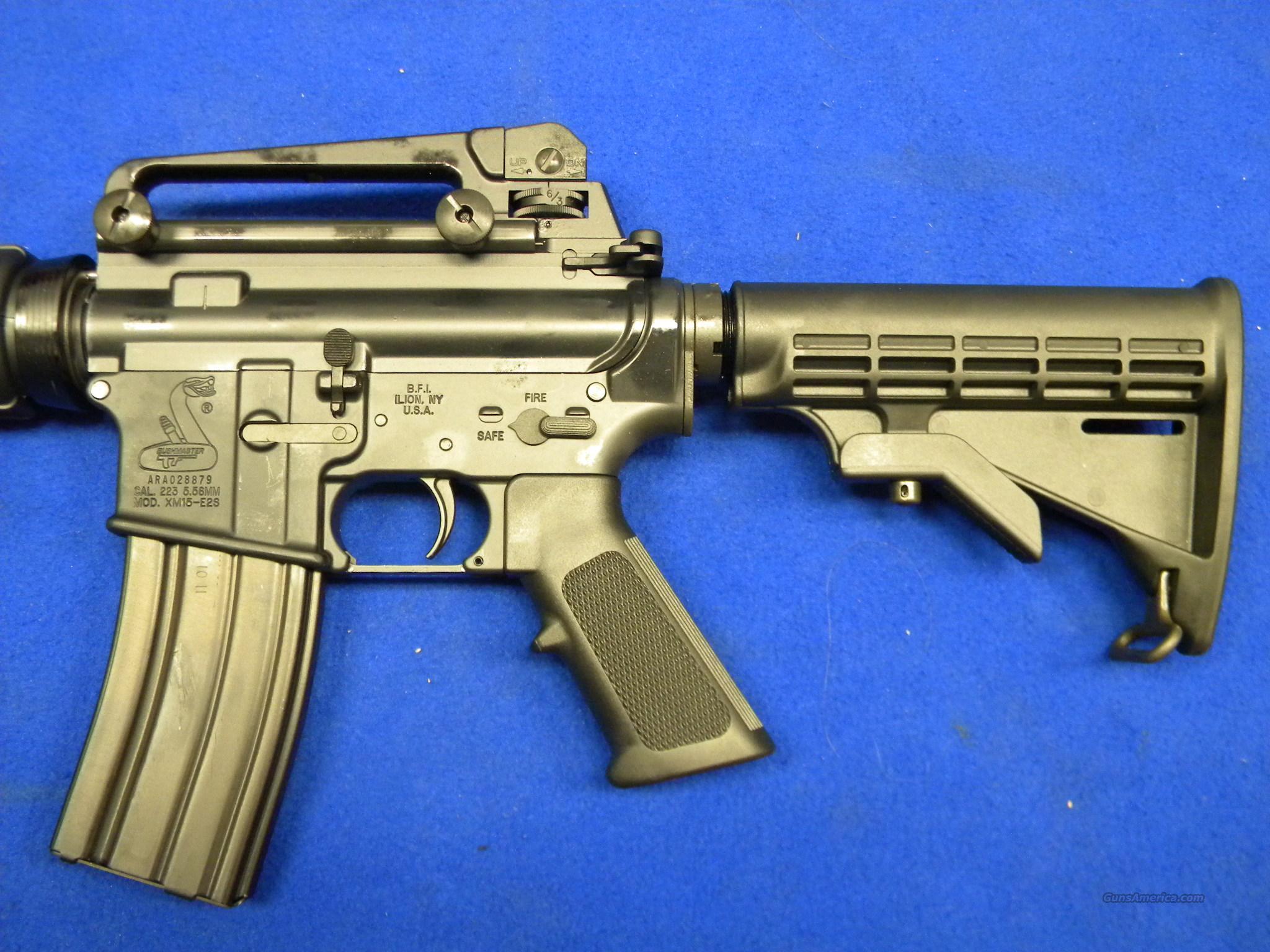 Bushmaster M4A3 Patrolman's .223 Rem/5.56 NATO For Sale