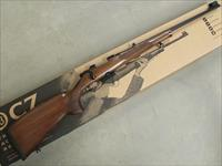 CZ-USA CZ 527 Lux Bolt-Action .22 Hornet Blued Walnut 03001