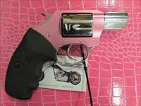 "Charter Arms Chic Lady 2"" Pink / Stainless .38 Spl Revolver 53839"