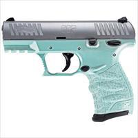 "Walther CCP M2 .380 ACP 3.54"" 8 Rds Angel Blue / Stainless 508.25.12"
