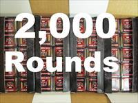 2000 Rounds of Hornady .22 Mag (WMR) 30 Grain V-Max 83202