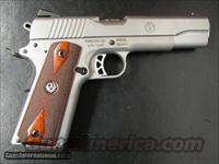 Ruger Stainless Full-Size SR1911 .45 ACP