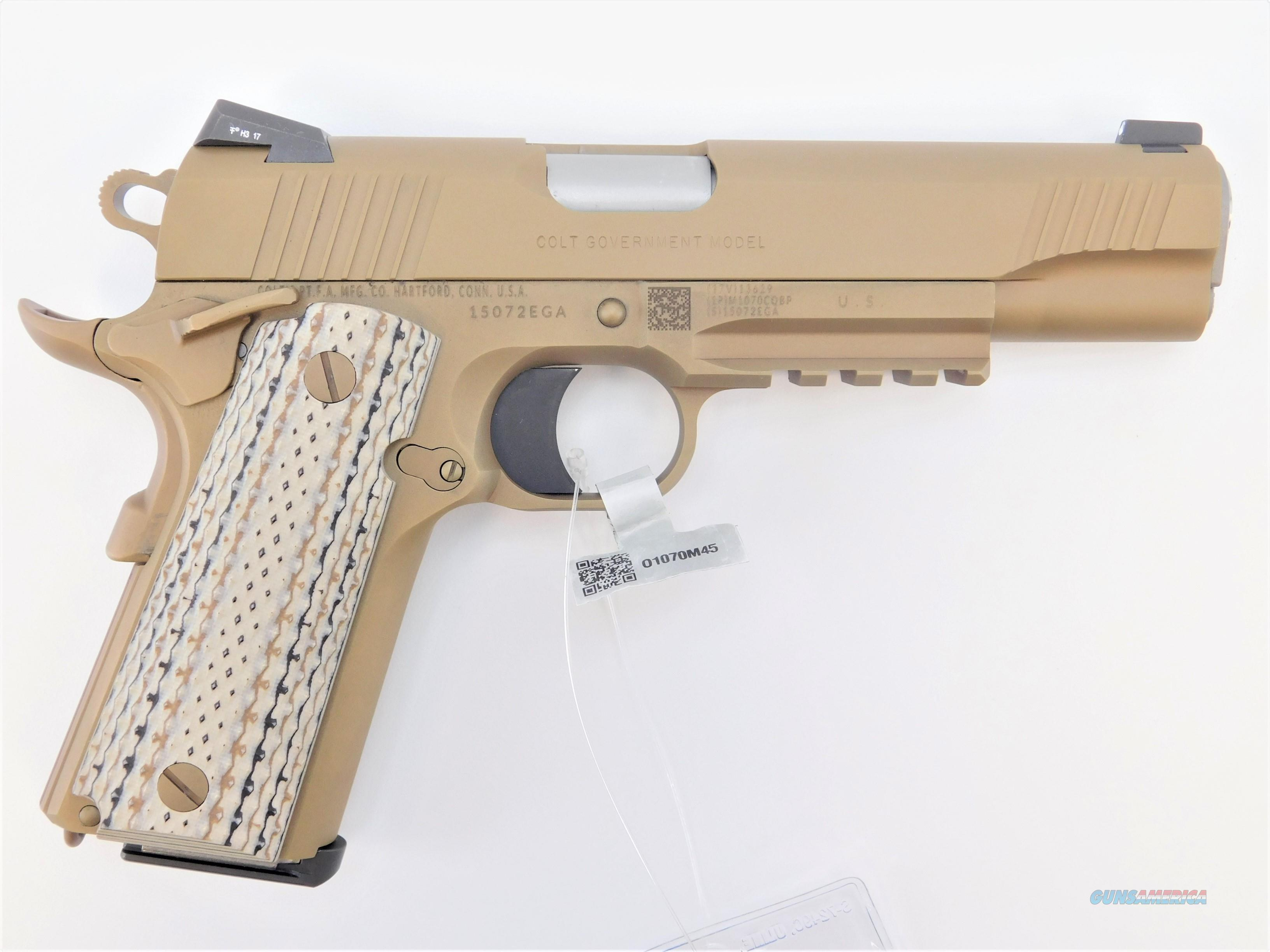 Colt M45-A1 Marine CQBP  45 ACP 5