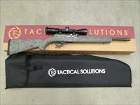 TACTICAL SOLUTIONS X-RING RIFLE VORTEX 2-7X32 22 MOD OD / HOGUE GHILLE GREEN 10/22 TEMODBHGGRNVRTX