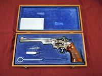 "Beautiful 1980 Smith & Wesson S&W 27-2 Nickel 8 3/8"" .357 Magnum"