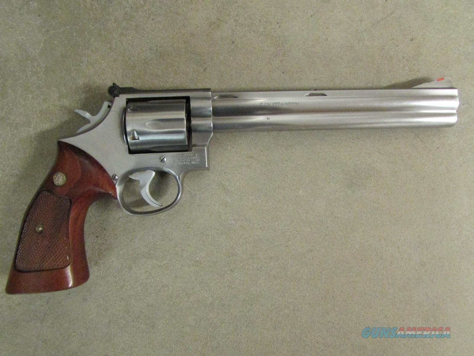Smith & Wesson 686-3 8 SS 8 3/8\