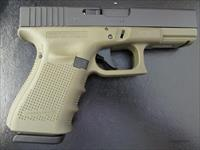 "Glock G19 Gen4 OD Green 9mm 4.01"" 15 Rounds PG1957203"