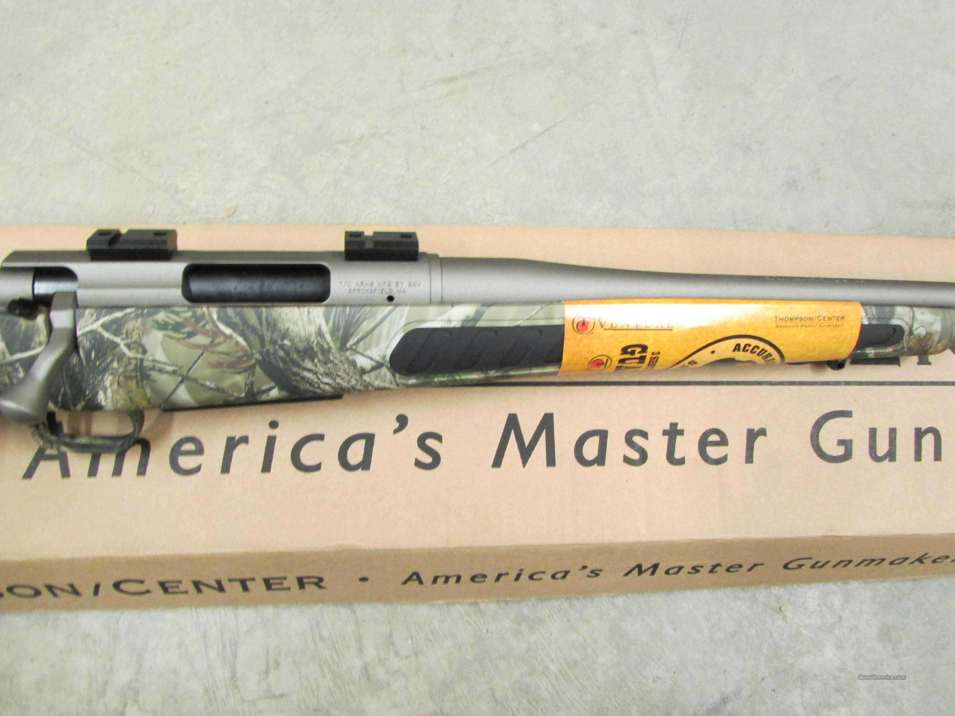 Thompson Center Ventures Dealer Exclusive Camo/Stainless