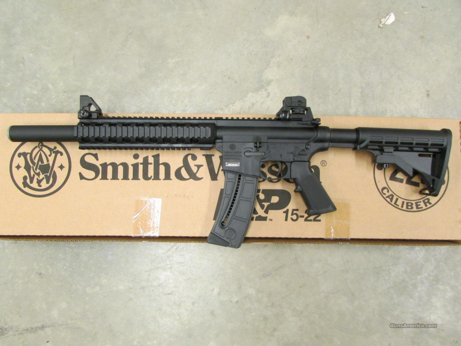 Smith Amp Wesson M Amp P 15 22 Integrally Suppressed For Sale