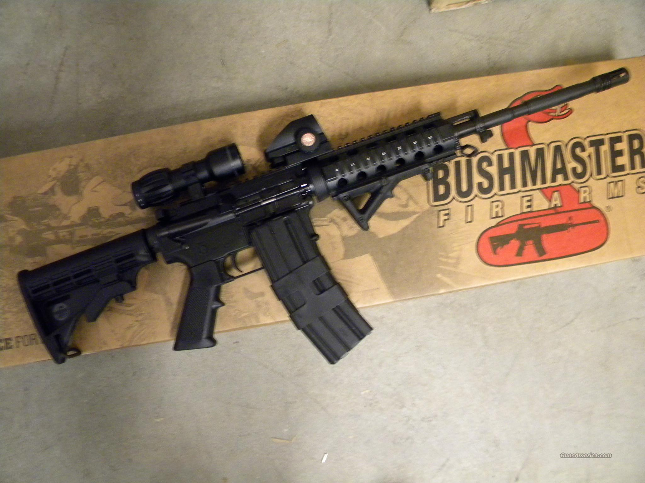 DEALER EXCLUSIVE BUSHMASTER AR15 REAPER 5 56