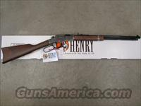 Henry Silver Boy Lever-Action .22 Nickel Octagon Barrel H004S