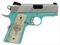Iver Johnson Thrasher TB9 9mm Tiffany Blue/Silver 3.12