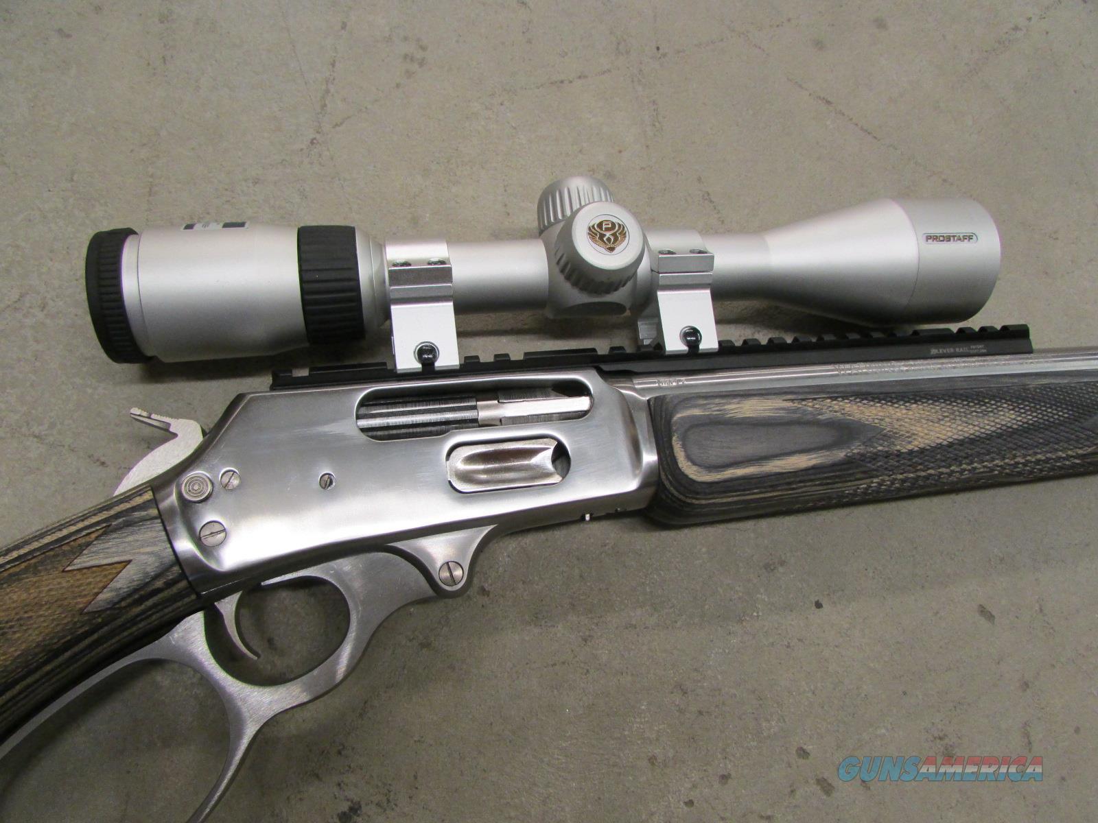 Lightly Used Marlin 1895SBL Stainless  45-70 w/ Nikon Scope