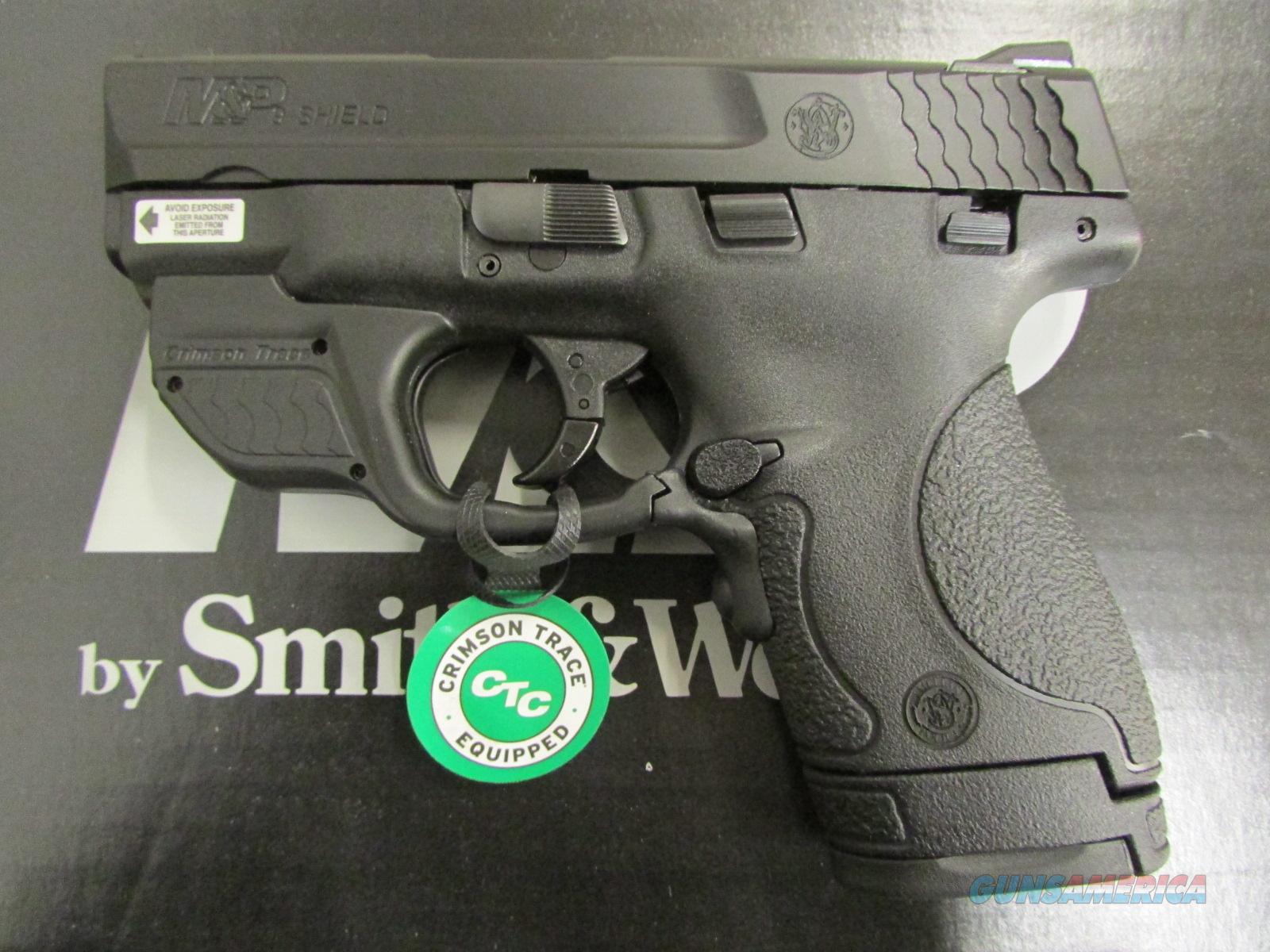 Smith Amp Wesson M Amp P9 Shield Crimson Trace Green For Sale