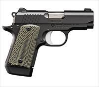 "Kimber Micro 9 TLE (NS) 9mm 3.15"" 7 Rds 3300191"