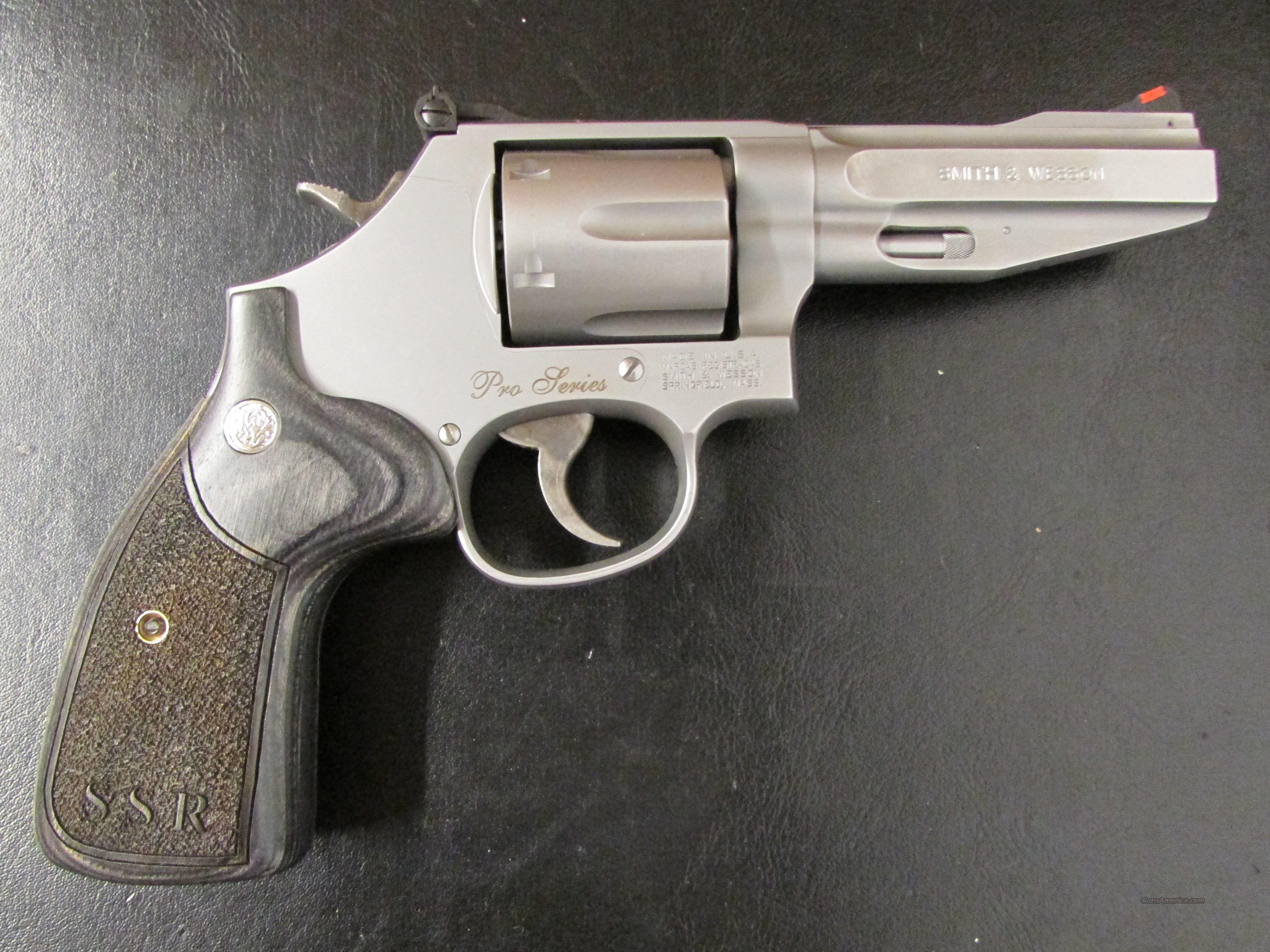 Smith Wesson Model 686 SSR Pro Series 357 Magnum Guns Pistols