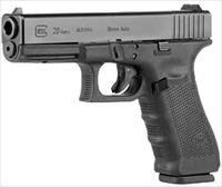 "Glock 20 Gen4 10mm 4.60"" Barrel 15 Round PG2050203"