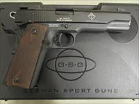 "ATI GSG German Sport M1911 Blued 5"" Threaded .22 LR GERG2210M1911"