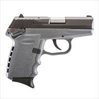 SCCY FIREARMS CPX-1 CBSG BLACK / SNIPER GRAY 9mm CPX1CBSG