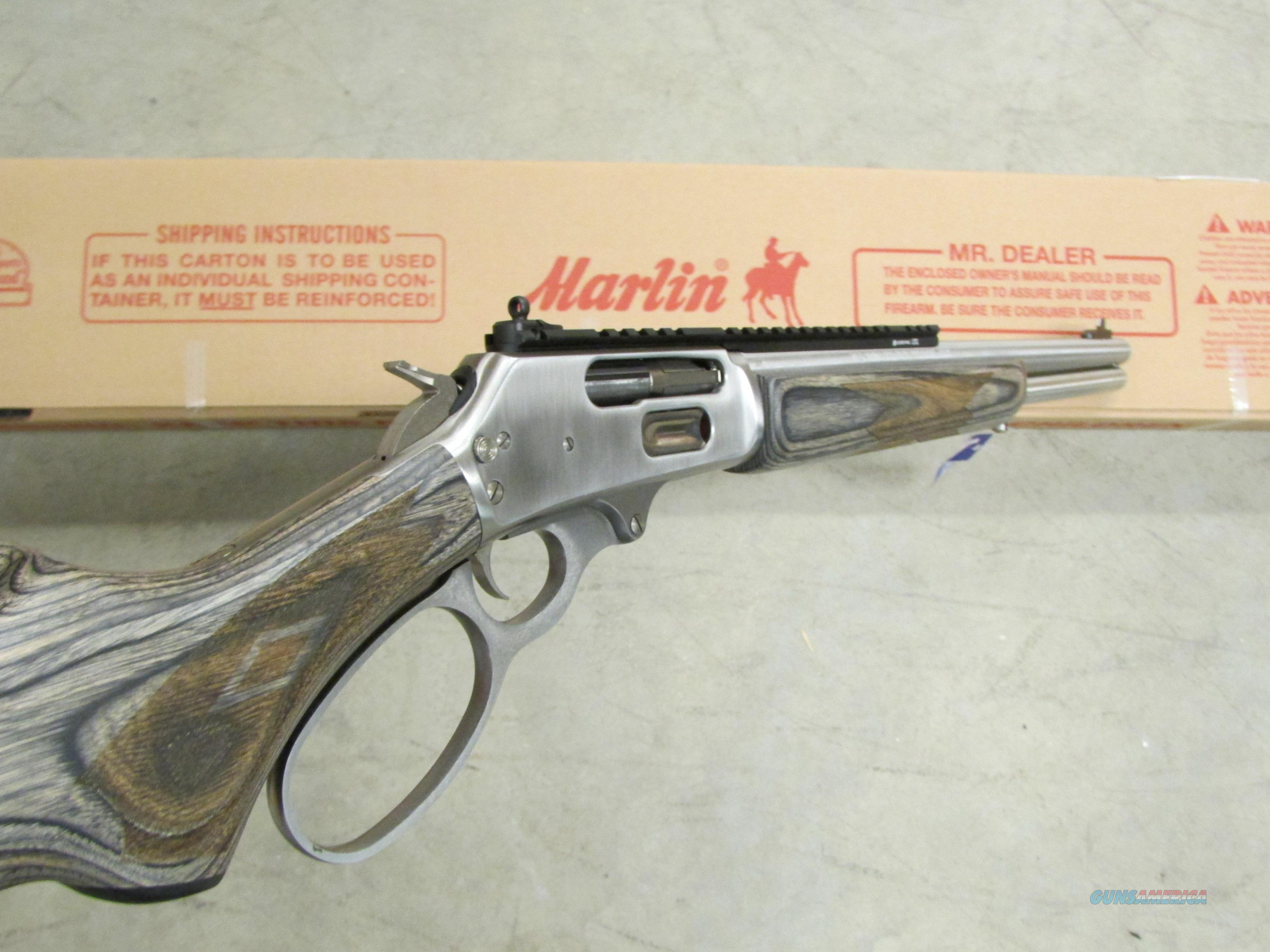 Marlin big bore 45 70 government stainless model 1895s