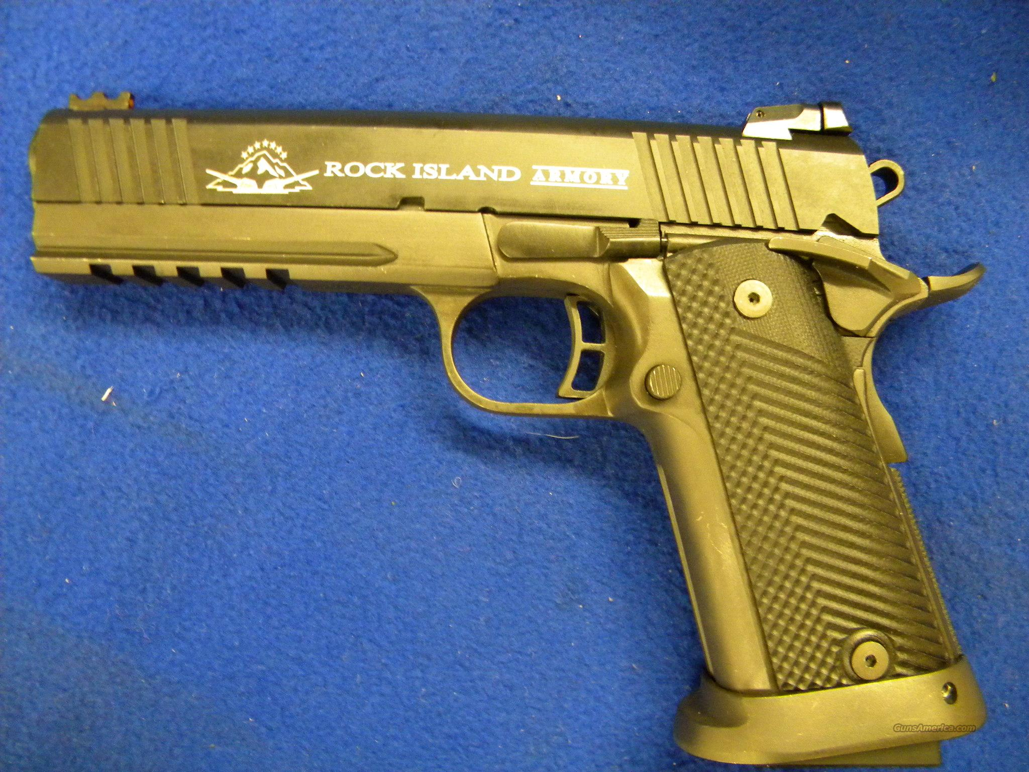 Rock island 2011 tactical 9mm double stack for sale 943647844