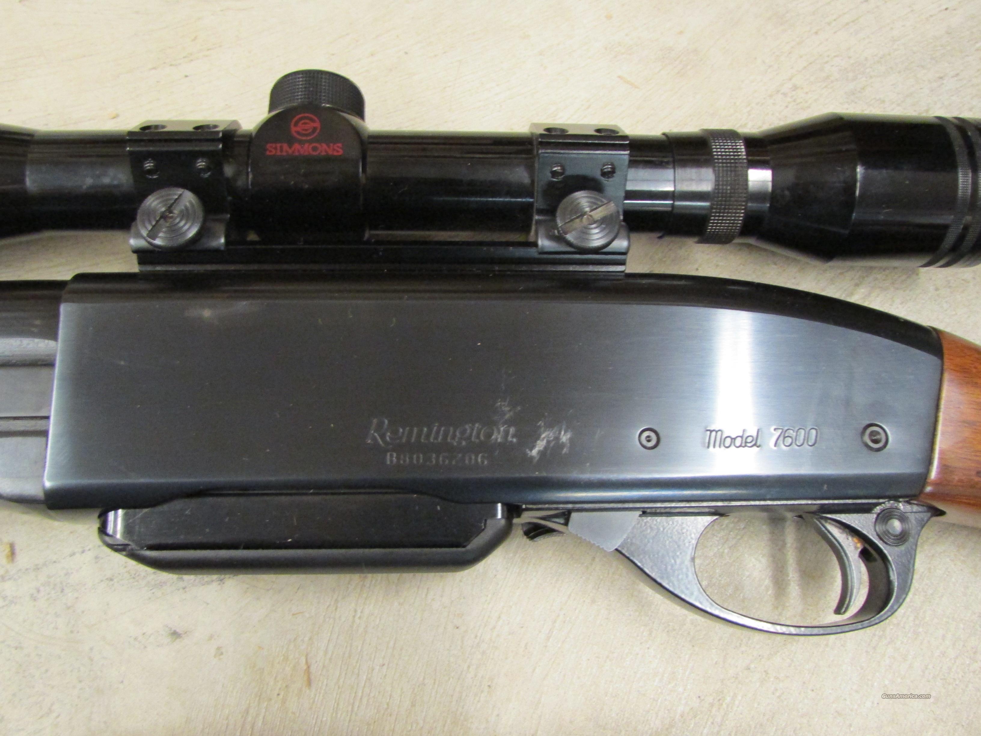 1990 Remington Model 7600 Pump-Action .243 Win.... for sale
