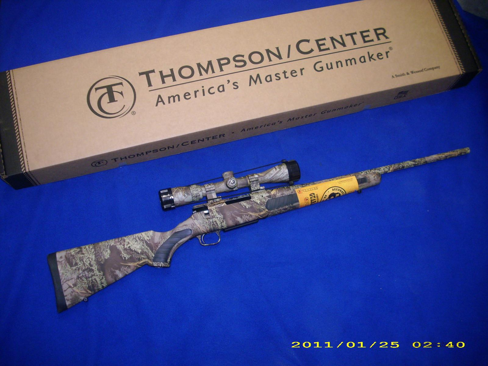 Thompson Center Venture Predator 204 Ruger,22-250,308,223 Cal  w/ Scope
