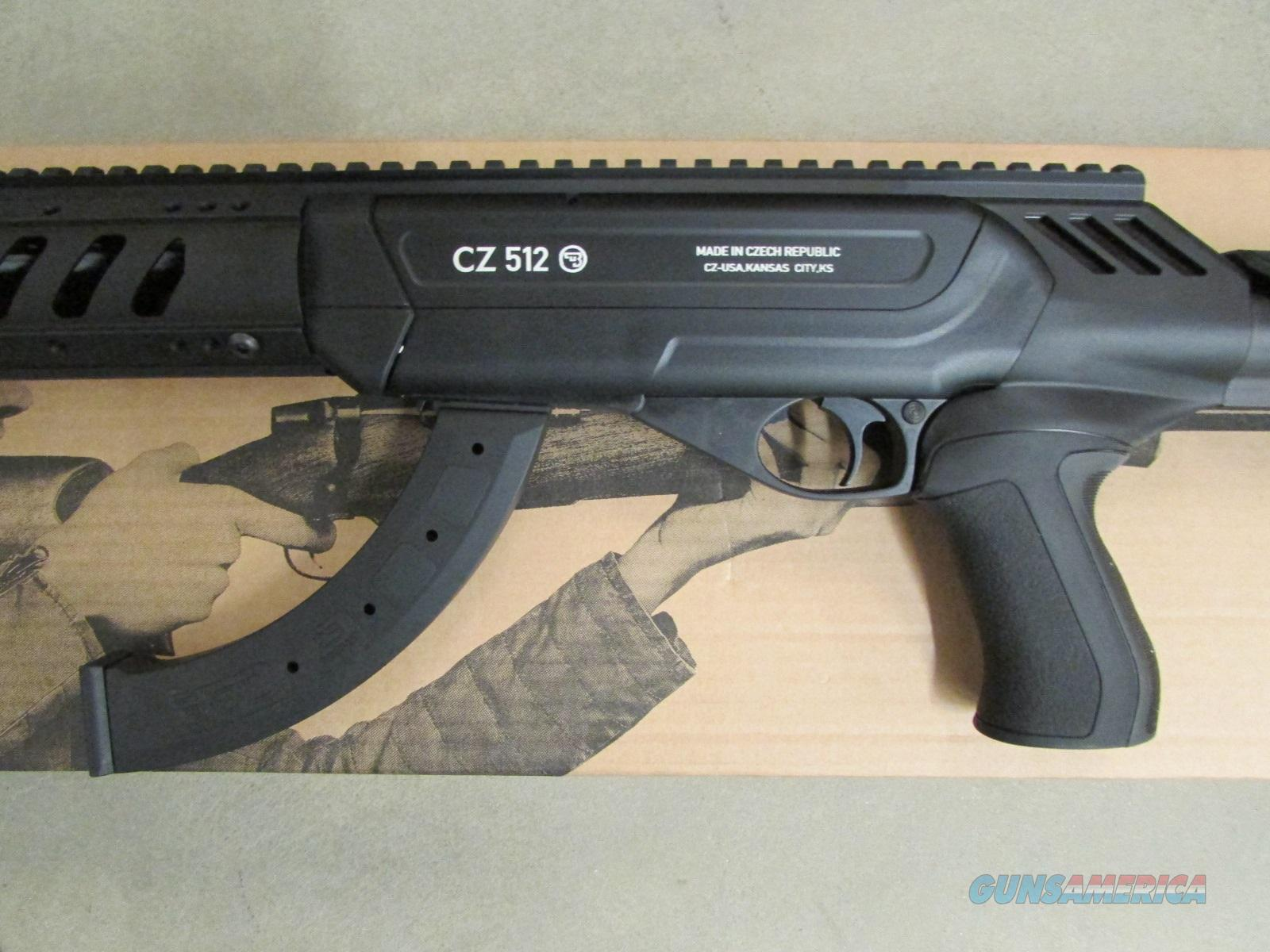 Cz Usa Cz 512 Tactical 16 5 Quot 22 Lr For Sale