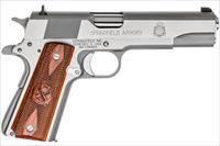 "Springfield Armory 1911 A1 Mil-SPEC Stainless 5"" .45 ACP PB9151L"