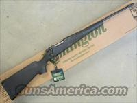 "Remington Model 7 Synthetic 20"" Barrel Synthetic Black Stock 7mm-08 Rem"