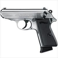 "Walther PPK/S Nickel .22 LR 3.26"" 10 Rounds 503.03.20"