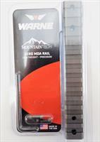 Warne Mountain Tech 1-Piece Zero MOA Rail for Wby Vanguard Short Action Burnt Bronze
