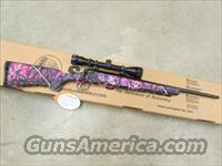 Savage Axis XP Bolt-Action 7mm-08 Rem. Pink Muddy Girl with Scope 19977