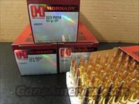 200 ROUNDS HORNADY .223 REMINGTON 55 GR SP 80255