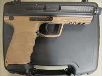 Heckler & Koch H&K HK45 Tactical Tan FDE .45 ACP