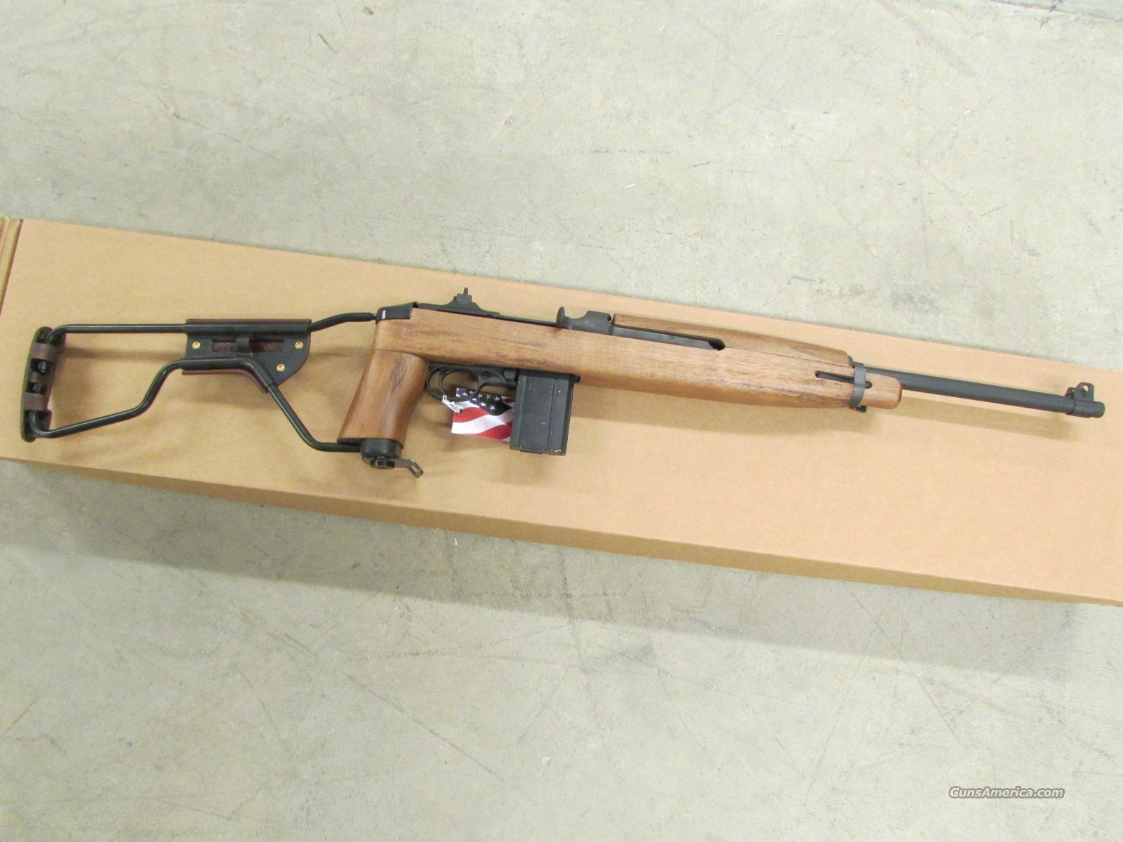 b5a0b10bbe7269 Auto-Ordnance M1 Carbine Paratrooper Stock Parkerized Finish .30 Carbine  Guns   Rifles