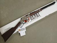 "Henry Silver Eagle Engraved 20"" Lever-Action .17 HMR H004SEV"