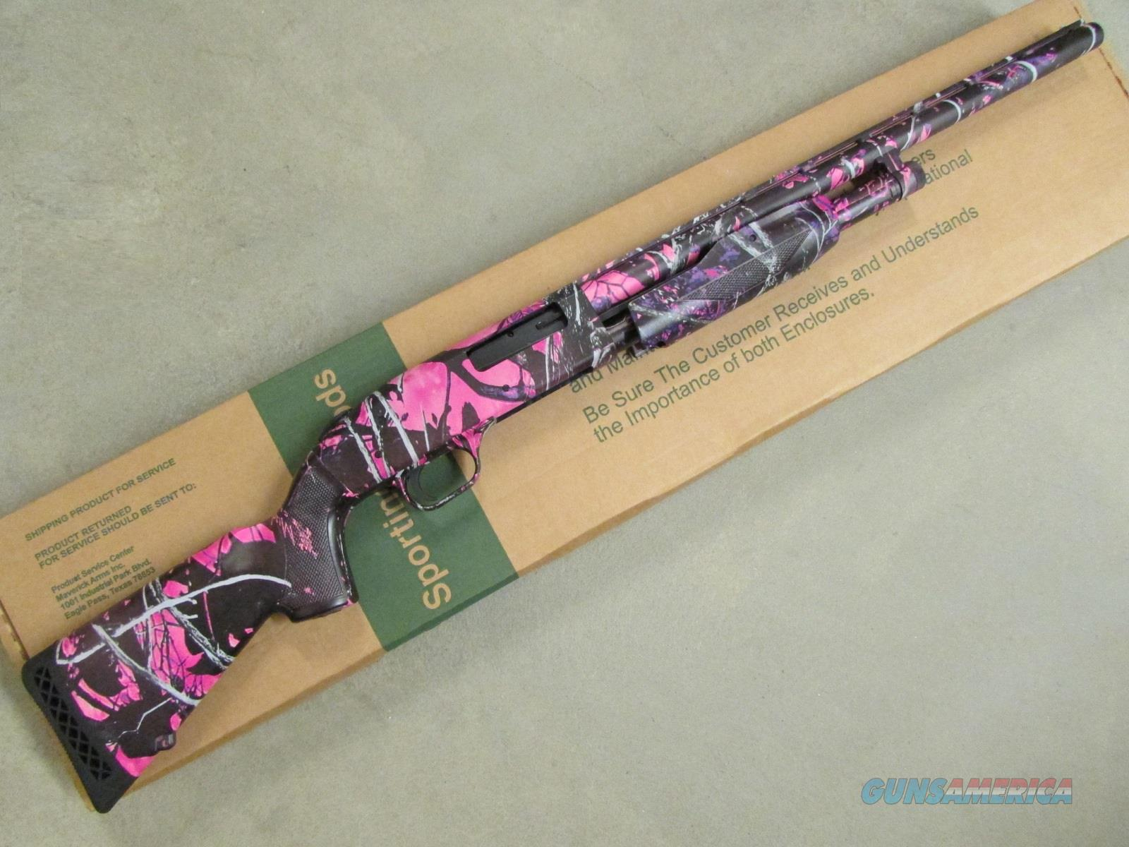 Mossberg 510 Youth Mini Muddy Girl Pink Camo 1... for sale