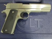 "Colt 1991 Government Series 80 1911 5"" Stainless 9mm O1092"