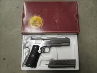 1990 NIB Colt Delta Gold Cup Stainless 1911 10mm AUTO