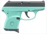 "Ruger LCP .380 ACP TALO Turquoise 2.75"" 6 Rds 3746"