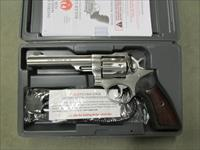 Ruger GP100 Standard Double-Action Stainless .22 LR SKU: 1757