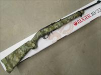 "Ruger 10/22 Wolf Camo Stock 18.5"" Barrel .22 LR"