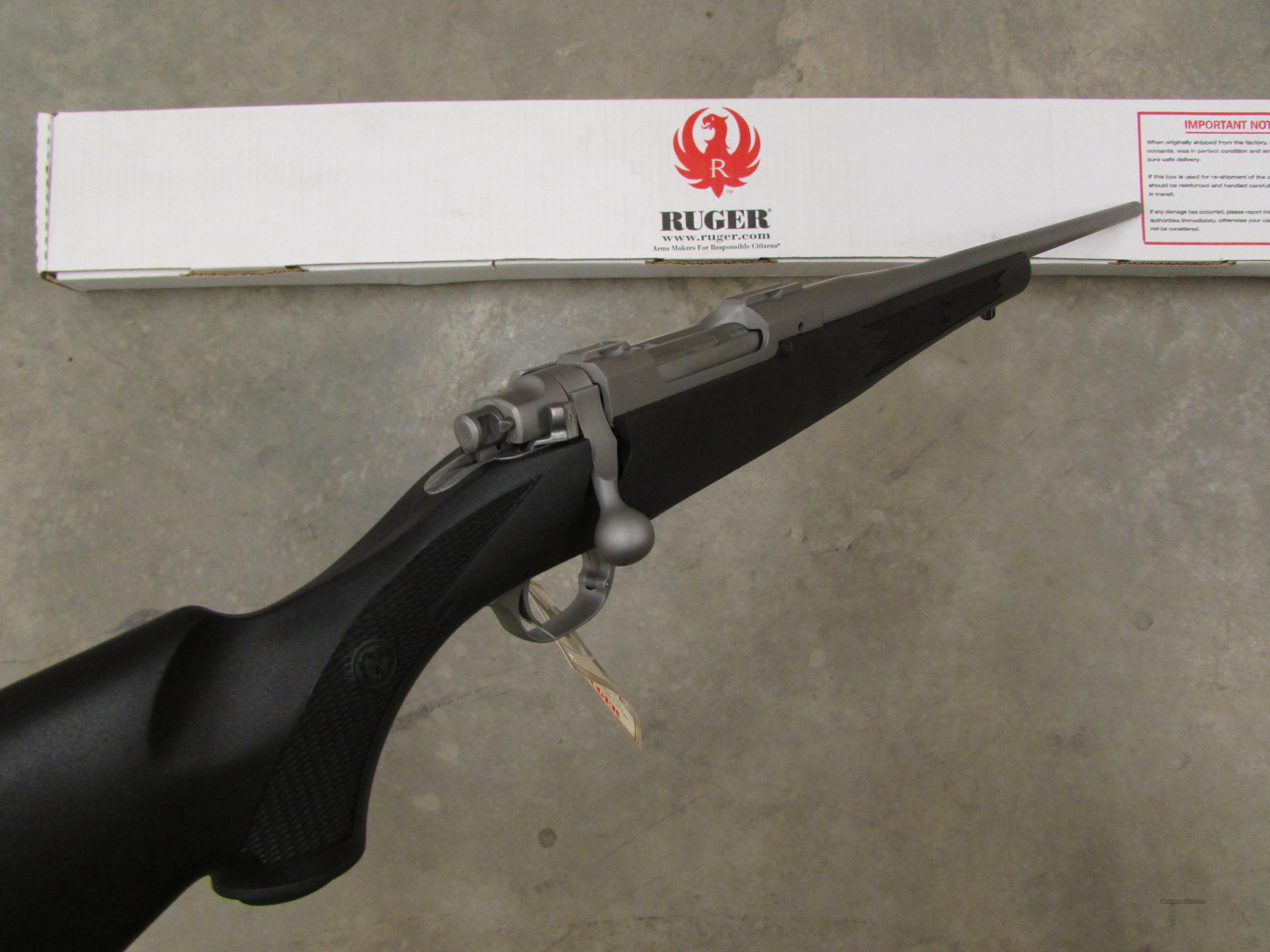 Ruger M77 Bolt Action Synthetic Stainless 243 For Sale